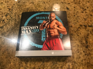 BeachBody INSANITY MAX:30 Workout / Fitness DVDs