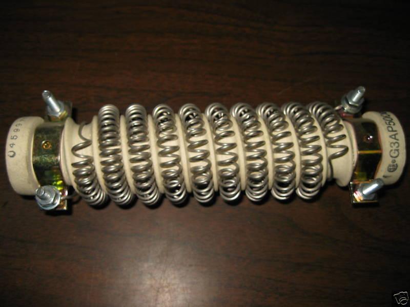 New Cutler Hammer Resistor G3AP500
