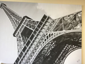 Eiffel Tower Mounted Poster