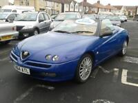 1999 ALFA ROMEO SPIDER 2.0 TS Lusso Convertible From GBP2995 + Retail Package