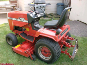 Looking for parts to restore a Massey 1650 and a Cub Cadet 1450