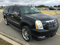 2007 CADILLAC ESCALADE ESV BLACK ON BEIGE NAVIGATION CAMERA161KM