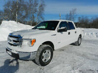 2013 Ford F150 4x4 Crew Cab Ecoboost
