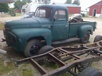 1951 international pick up truck