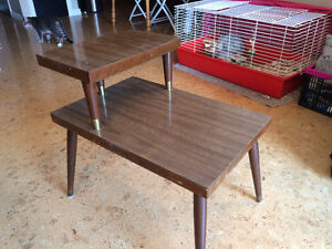 Moving Sale: Brown Side Table