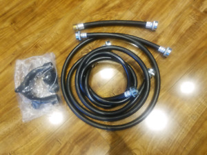 Washer and dryer water supply hose.