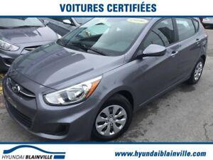 Hyundai Accent Certifié, Bas KM, Comme neuve, Portes Électriques