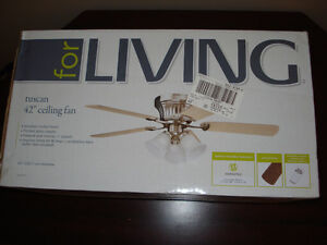 "42"" Ceiling Fan with Remote (new)"