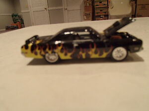 Loose Black w/Flames 1970 '70 PLYMOUTH GTX 440/375 Motor JOHNNY Sarnia Sarnia Area image 1