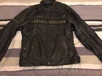 Harley Davidson leather Jacket size L