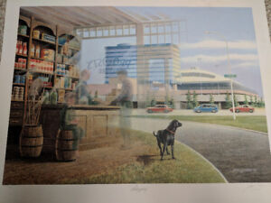 James Lumbers Shopping Limited Edition Print L@@K!