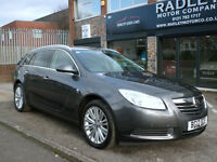 2012 Vauxhall Insignia 2.0CDTi 16v ( 160ps ) Auto SE 5DR 12 REG DIESEL Grey