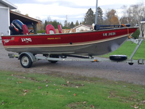 16 foot Lund with 40hp Merc