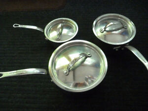 High Quality KItchenAid 5 Ply Stainless Steel Clad Cookware Set