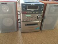 Sony micro hifi system CD player CMT-EP515