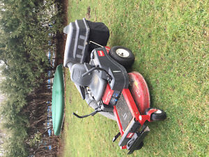 "Toro 32"" timecutter and bagger unit"