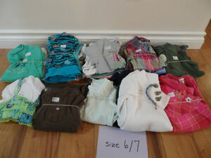 GIRLS SIZE 6/7 CLOTHING