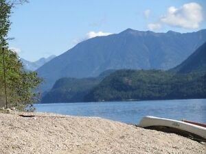 250' Beachfront Home on Slocan Lake