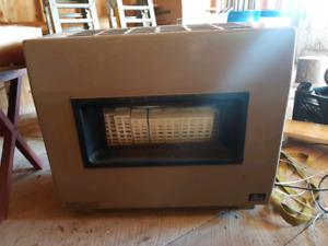 Empire propane heater