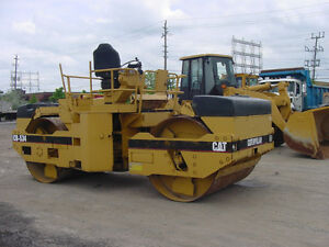Compaction Roller, Cat CB534 Tandem Compaction Roller