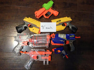 Nerf Guns - Large Variety from $5-$30