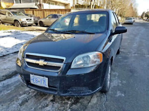 2010 Chevrolet Aveo i want it gone moving sale