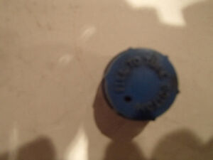 4 Pcs Vintage Screw In Battery Caps. Blue FILL TO TUBE BOTTOM Sarnia Sarnia Area image 7