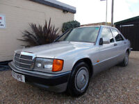 MERCEDES 190E 2.0 AUTO SALOON ONLY 82K MILES FULL SERVICE STUNNING EXAMPLE