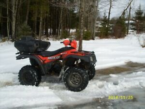 2004 ARTIC CAT 500 ATV Looks good works good $2100.00 or TRADES?