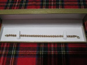 Ladies' 10 kt. Yellow Gold Bracelet *NEW IN BOX*