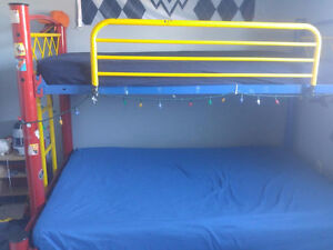Metal Bunk Bed Single and Double Combo