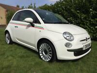 2011 11 Fiat 500 1.2 ( 69bhp ) LOUNGE S/S PAN ROOF 2 OWNERS
