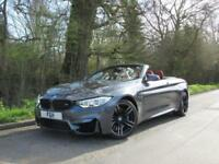 2014 13 BMW 4 SERIES 3.0 M4 2D AUTO 426 BHP CONVERTIBLE MINERAL GREY