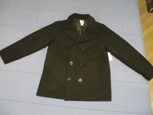 Boy's dress peacoat