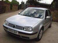 Volkswagen Golf 1.9TDI PD ( 100bhp ) 2003 S Cambelt Done 2013 FSH