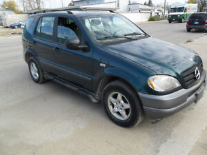 1998 Mercedes-Benz M-Class SUV, Crossover 4x4
