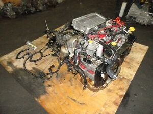 JDM SUBARU IMPREZA STI GC8 EJ20 TURBO ENGINE, 5SPEED TRANSMISSIO Prince George British Columbia image 4
