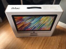"Apple iMac 27"" 2018 Model Empty box"