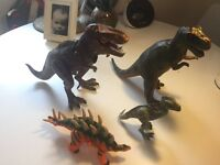 Dinosaur bundle, room guard/projector T. rex, Butch & 3 others