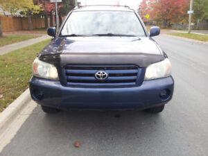 2004 Toyota Highlander V6 AWD SUV, Crossover,lic & Inspected.