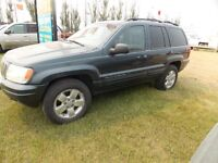 2001 Jeep Grand Cherokee ltd SUV, Crossover