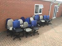 Office chairs x50