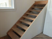 Wanted : Install and Finish Oak Treads and Risers