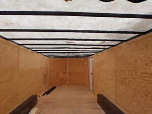 24 ft. enclosed cargo trailer