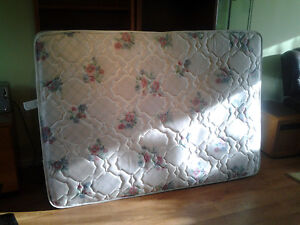Double bed size mattress, rarely used