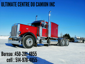 PETERBILT 389 FLAT TOP SUPERBE CAMION
