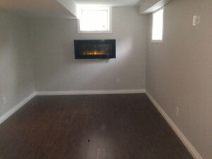 Furnished 1 bedroom spacious clean - just renovated basement