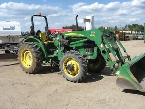 JD MODEL 5325 TRACTOR WITH ATTACHEMENTS
