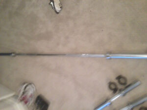 """Olympic Bar 86"""" long 34mm thick"""