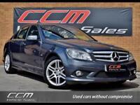 Mercedes-Benz C Class 2.1 C220 CDI Blue Efficiency Sport 4DR 2010 + BLUETOOTH +